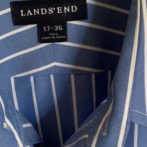 Lands End dress shirt